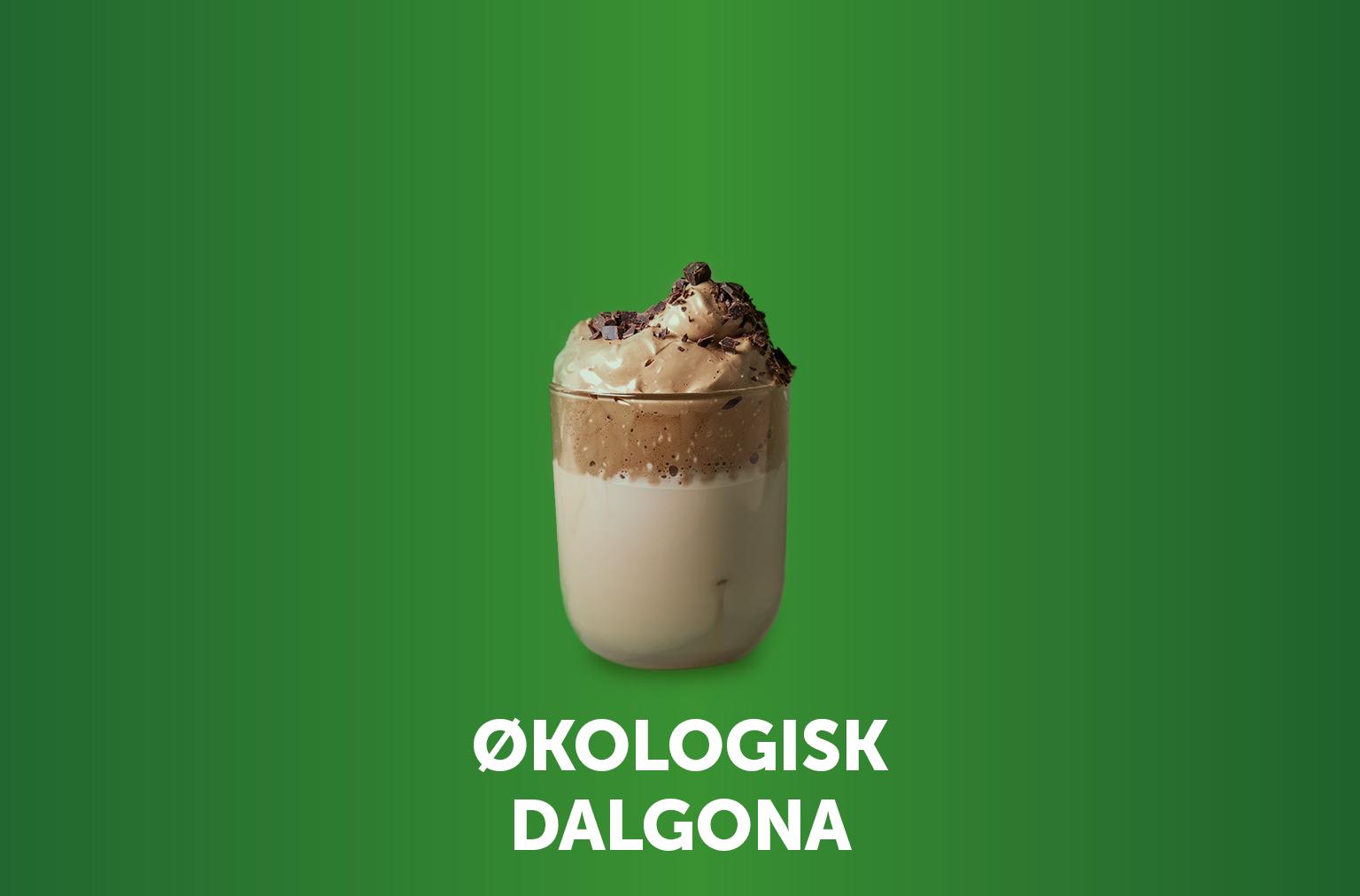 Økologisk Dalgona